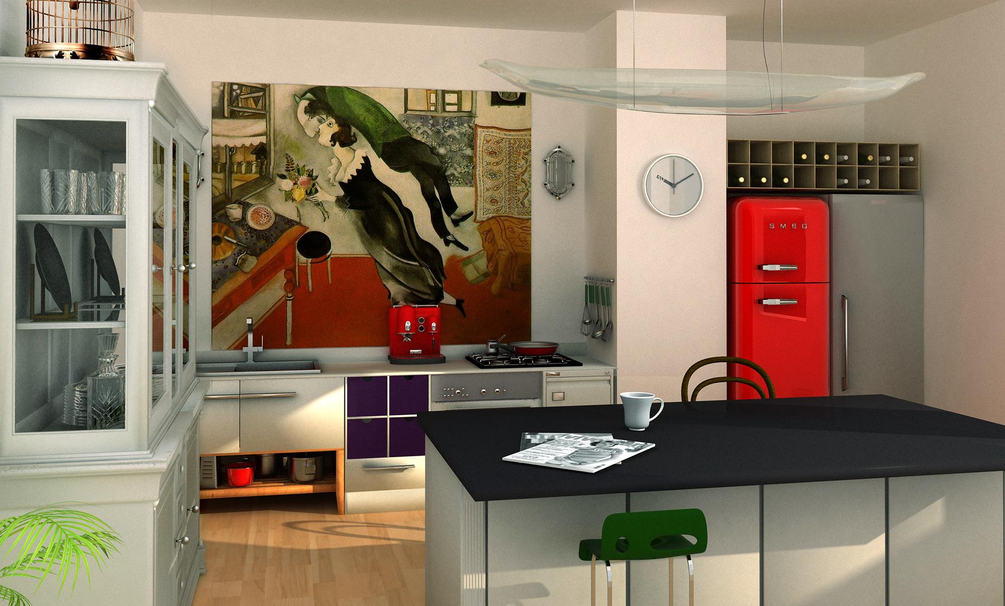 Luxusní bydlení pro úspěšnou dámu nebo pána – Byt č. 8