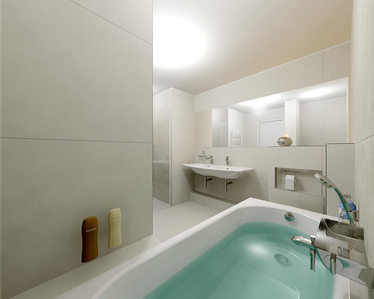 Prostorný byt se třemi ložnicemi – Byt č. 4